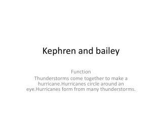 Kephren  and bailey