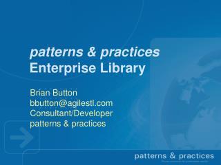 Patterns  practices Enterprise Library