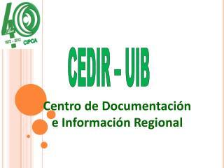 CEDIR – UIB