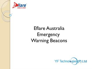 Eflare Australia Emergency  Warning Beacons