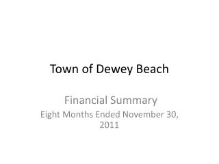 Town of Dewey Beach