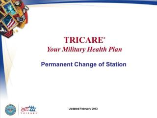 TRICARE: Your Military Health Plan Permanent Change of Station