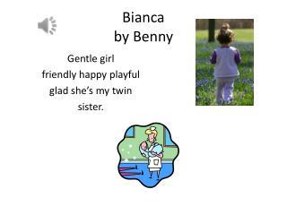 Bianca  by  Benny
