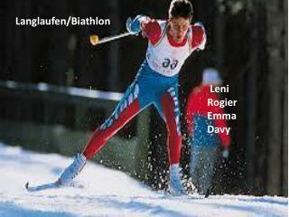 Langlaufen/ Biathlon Leni