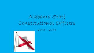 Alabama State  Constitutional Officers