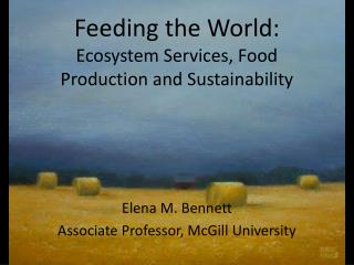 Feeding the World:  Ecosystem Services, Food Production and Sustainability