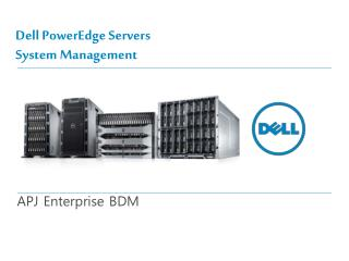 Dell PowerEdge Servers System Management