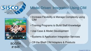 Model-Driven   Integration Using CIM