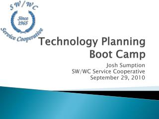 Technology Planning Boot Camp