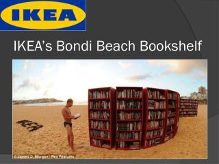 IKEA's Bondi Beach Bookshelf