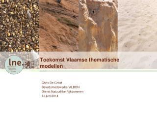 Toekomst Vlaamse thematische modellen