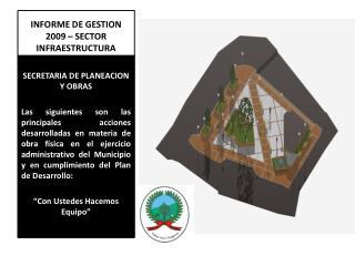 INFORME DE GESTION 2009 – SECTOR INFRAESTRUCTURA