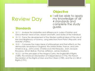 Review Day