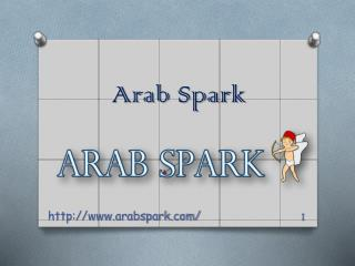 Arab Dating – Finding your soulmate online - www.arabspark.com