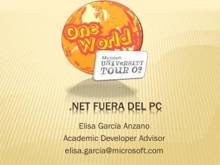 .NET FUERA DEL PC
