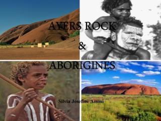 Ayers Rock  & aborigines