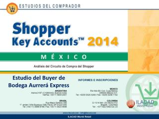 Estudio del  Buyer  de Bodega  Aurrer�  Express