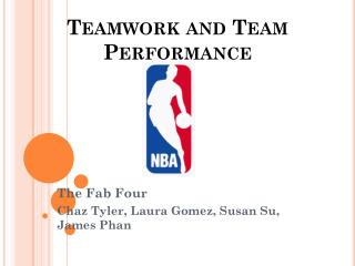 Teamwork and Team Performance