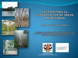 REP�BLICA DEL ECUADOR GOBIERNO PROVINCIAL DEL  GUAYAS