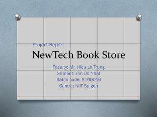 NewTech  Book Store