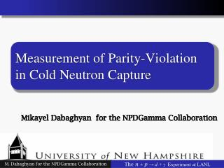 Measurement of Parity-Violation in Cold Neutron Capture