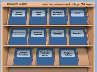 Resource Guides                           Hover over each notebook to enlarge.  Click to open .