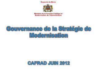 Ministère de la Fonction Publique et Modernisation de l'Administration