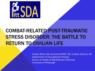 Combat-related post-traumatic Stress disorder: the battle to return to civilian life