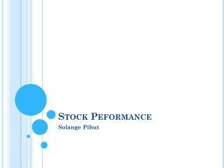 Stock  Peformance