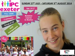 SUNDAY 27 th  JULY � SATURDAY 9 TH  AUGUST 2014
