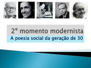 2º momento modernista
