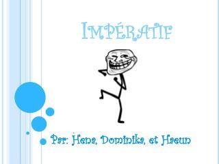 Impératif