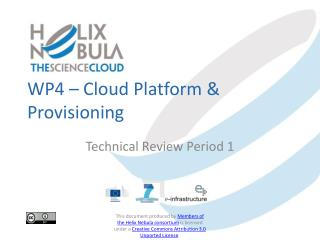 WP4 –  Cloud Platform & Provisioning