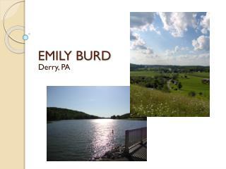 EMILY BURD