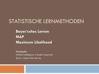 Statistische Lernmethoden