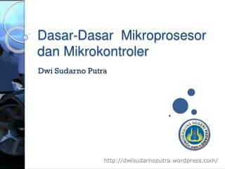 Dasar-Dasar  Mikroprosesor dan Mikrokontroler