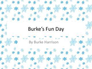 Burke's Fun Day