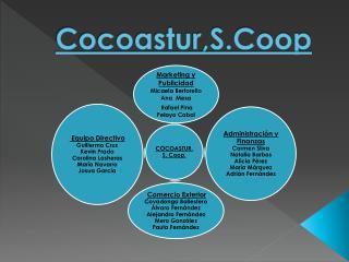 Cocoastur,S.Coop