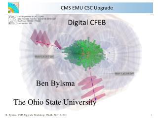 CMS EMU CSC Upgrade Digital CFEB