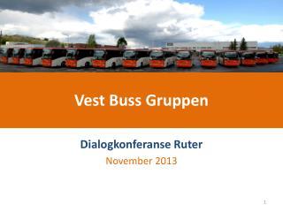 Vest Buss Gruppen