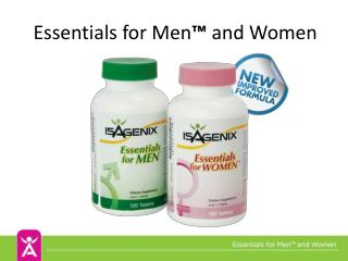 Essentials  for Men �  and Women
