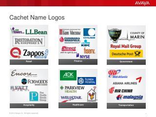 Cachet Name Logos