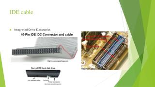 IDE cable