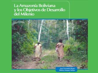 A mazonías  en  Bolivia