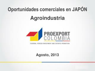 Oportunidades comerciales en JAP�N