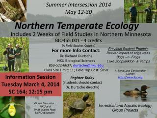 Summer Intersession 2014 May 12-30