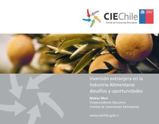 Inversión extranjera en la Industria Alimentaria:  desafíos y oportunidades