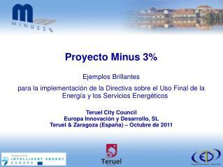 Teruel City Council Europa Innovación y Desarrollo, SL