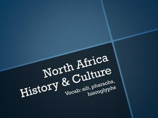 North Africa History & Culture