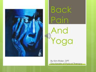 Back Pain And Yoga